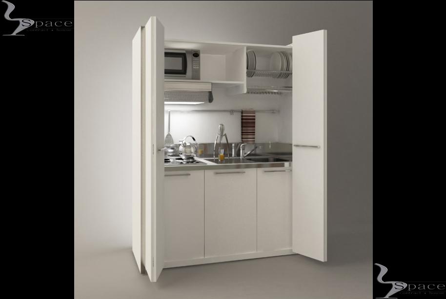 Mini Cucine Per Monolocali. Top Mini Cucina Cm Bianca Nuova With ...